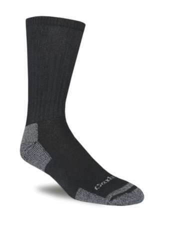 Work,socks,crew,mens,l,black,pk3