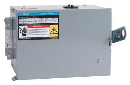 Bus Plug 60A 600V 4 Pole 4G W 3Ph E by USA Siemens Circuit Busbars & Bus Plugs