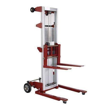 Dayton Invertible Fork Straddle Lift 350 lb Cap