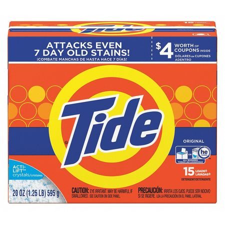 Tide 20 Oz. Box Fresh Scent Powder Laundry Detergent