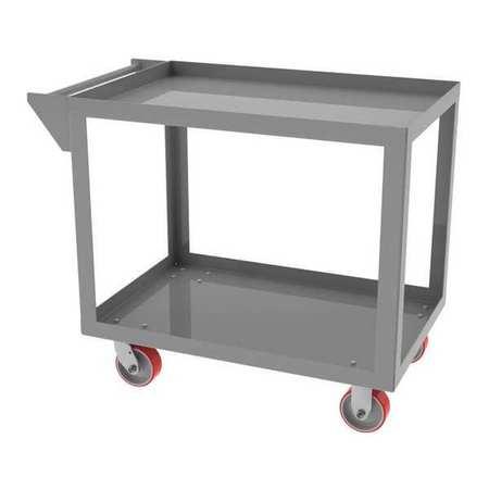 "Greene Cart 24""Dx60""L 5 Shelf Retainer Lip"
