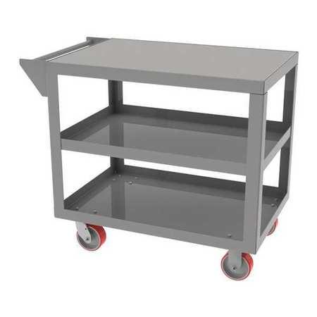 "Greene Cart 24""Dx42""L 2 Shelf No Retainer Lip"
