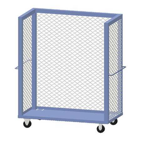 """Greene Cart 24""""Dx48""""L 2 Shelf Mesh"""