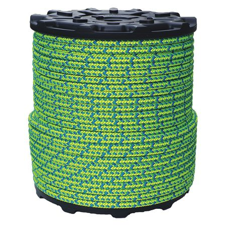 All Gear Climbing Rope PES 1/2 In. dia. 600 ft. L