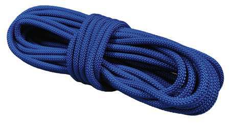 All Gear Round Braid Ppl Rope 1/2In dia. 100ft L