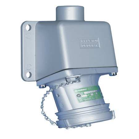 Receptacle 30A 2P 2W 600V NEMA 3 3R 4 4X Model ADRE3022 75 by USA Appleton Electrical Pin & Sleeve Receptacles