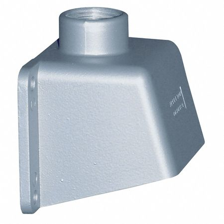 "Back Box 30A 3/4"" Hub Straight Metallic by USA Appleton Electrical Pin & Sleeve Receptacles"