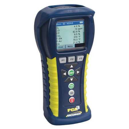 Combustion Analyzer,O2,CO,CO High -  BACHARACH, 24-8442