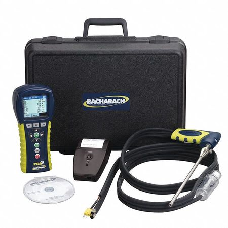 Combustion Analyzer Kit,O2,CO,NO,NO2 -  BACHARACH, 24-8451