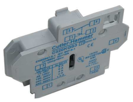 Auxiliary Contact 1NO by USA Eaton Electrical Motor Auxiliary Contacts