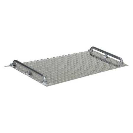 Vestil Dockplate Aluminum 700 lb 18 x 36 In