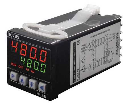 Temperature Controller 1/16 DIN Model N480D by USA Novus Industrial Automation Temperature Controllers