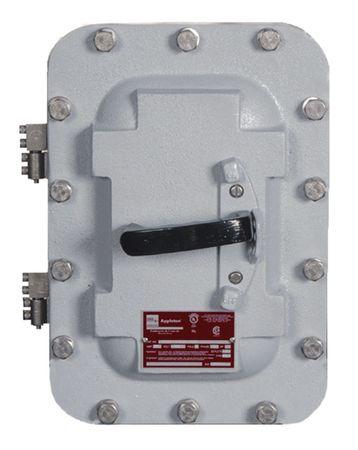 3P Standard Enclosed Circuit Breaker 125A 240VAC by USA Appleton Circuit Breakers