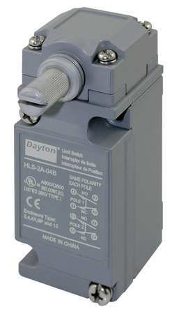 Heavy Duty Limit Switch Model 12T887 by USA Dayton Electrical Limit Switches