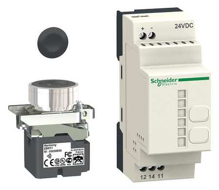 Push Button Transmitter and Receiver Kit by USA Schneider Electrical Pushbutton Complete Units