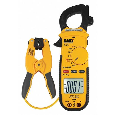 TRMS Clamp Meter w/Pipe Clamp Probe by USA UEI Electrical Clamp Meters