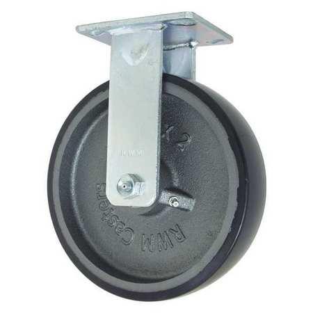 """RWM Rigid w/8x2"""" Urethane on Iron Wheel"""