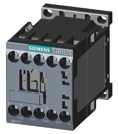 IEC Control Relay 3NO/1NC 240VAC 10A by USA Siemens Electrical Specialty Relays