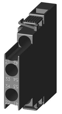 Auxiliary Contact Block 1NO 1NC Model 3RH29111DA11 by USA Siemens Electrical Motor Auxiliary Contacts