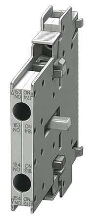 Auxiliary Contact Block 300VUC 2NC by USA Siemens Electrical Motor Auxiliary Contacts