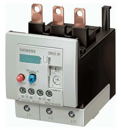 Ovrload Relay 36 to 50A Class 10 Thermal by USA Siemens Electrical Motor Overload Relays