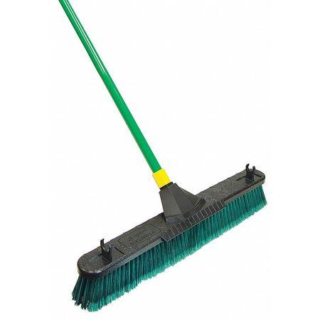 Tough Guy Tampico Fine Sweeping Push Broom 4KNA6