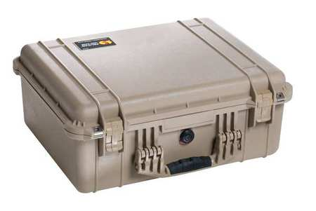 Pelican Case 20 5/8 InLx16 7/8 InWx8 1/8 InD Tan