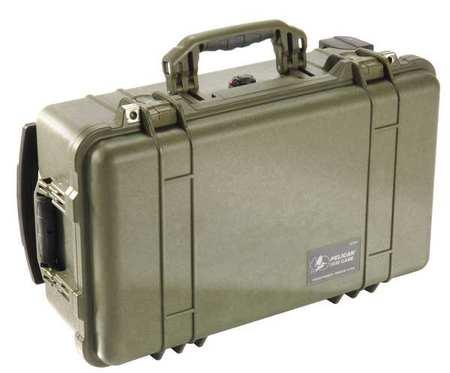 Pelican Case 22 In Lx13 13/16 In Wx9 In D Green Type 1510NF