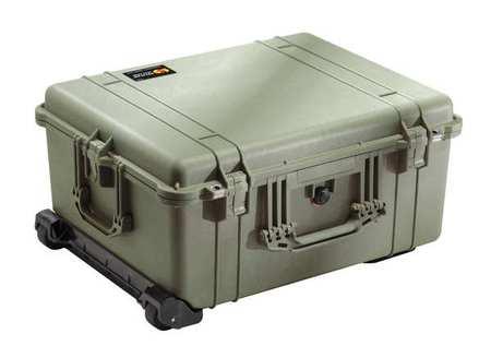 Pelican Case 24 53/64 InLx19 11/16 InWx11 7/8 In Type 1610 021 130 G