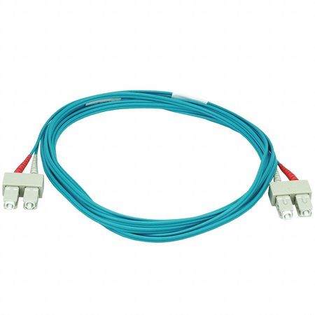 Fiber Optic Patch Cord SC/SC 3m Aqua by USA Value Brand Fiber Optic Cable