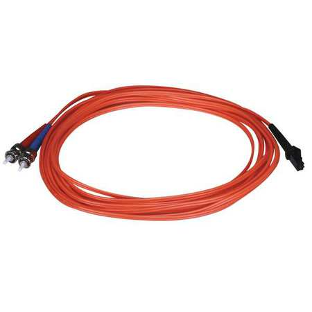 Fiber Optic Patch Cord MTRJ(F)/ST 5m by USA Value Brand Fiber Optic Cable