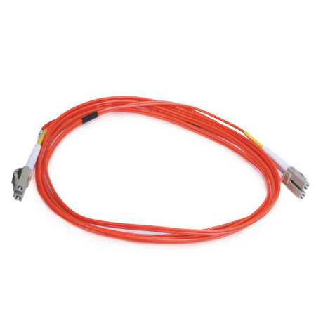 Fiber Optic Patch Cord LC/LC 2m PVC 10GB by USA Monoprice Fiber Optic Cable