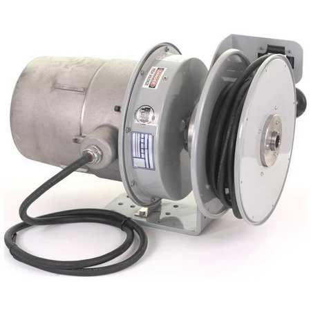 Haz. Location Reel 50 ft 12/3 Gry 600VAC by USA KH Extension Cord Reels