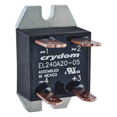 Solid State Relay 21 to 27VDC 20A by USA Crydom Electrical Solid State Relays