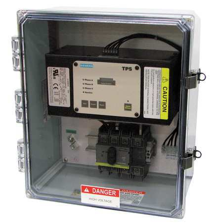 Surge Protection Device 1 Phase 120/240V Model TPS3A1220VX02 by USA Siemens Electrical Surge Protection Devices