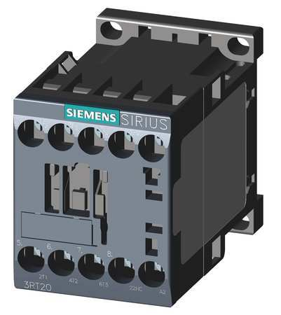 IEC Magnetic Contactor 120VAC 7A 1NC 3P by USA Siemens Electrical Motor Magnetic Contactors