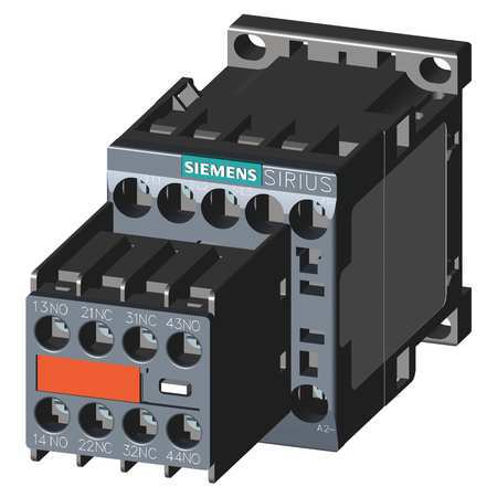 IEC Magnetic Contactr 120VAC 12A 2NC/2NO Model 3RT20171AK643MA0 by USA Siemens Electrical Motor Magnetic Contactors