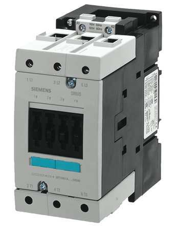 IEC Magnetc Cntactr 24V 95A NonRevrsng by USA Siemens Electrical Motor Magnetic Contactors