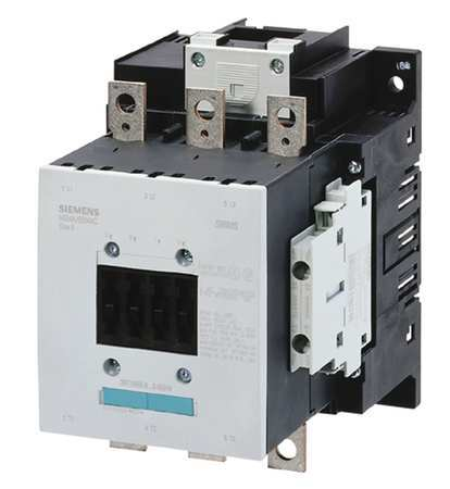 IEC Magnetic Cntactr 120VAC 185A 2NC/2NO Model 3RT10566AF363PA0 by USA Siemens Electrical Motor Magnetic Contactors