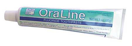 Fluoride Toothpaste,3 Oz.,pk36