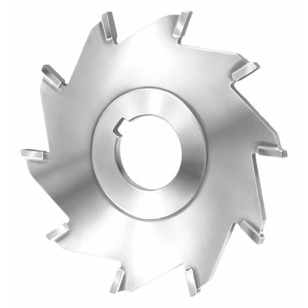 Aluminum 1-1//4 Arbor Hole Uncoated Coating 4 Cutting Diameter Standard Cut HSS 1//4 Width KEO Milling 04310 Staggered Tooth Milling Cutter,A Style 10 Teeth