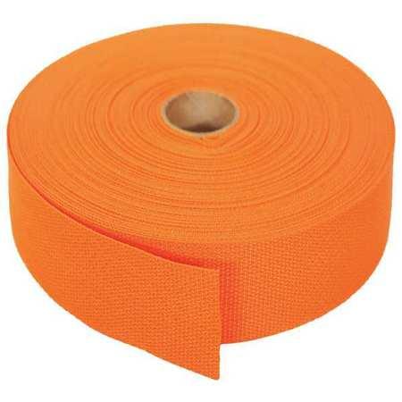 Bulk-Strap Bulk Webbing 102ft x 1-1/2In 750lb Type P15102OR