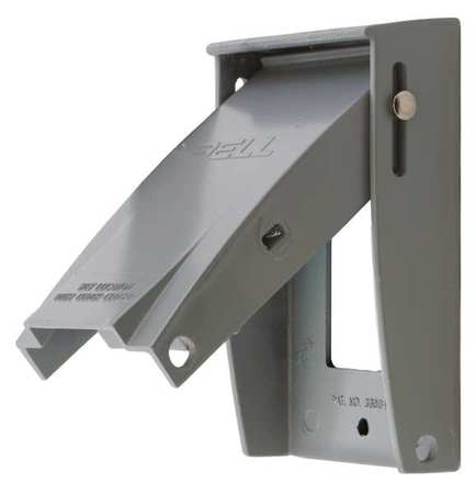 Weatherproof Cover Self Closing Aluminum by USA Hubbell Kellems Electrical Weatherproof Box Covers