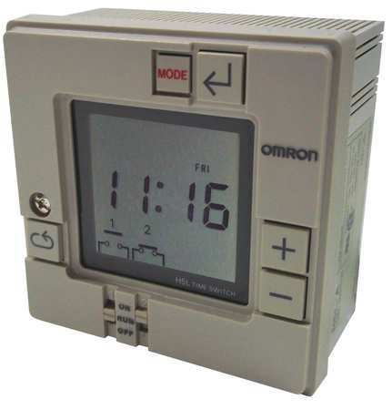 Electronic Timer 7 Days (2) SPST NO by USA Omron Electronic Timers