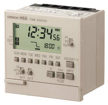 Electronic Timer 365 Days (2) SPST NO by USA Omron Electronic Timers
