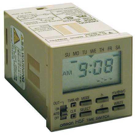 Electronic Timer 7 Days SPST NO by USA Omron Electronic Timers