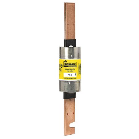 250A Fast Acting Fiberglass Class RK5 Solar Fuse 600VAC/DC by USA Eaton Bussmann Circuit Protection Fuses