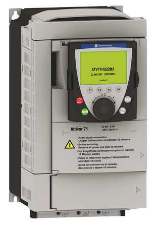 Variable Freq Drive 2 3HP 208 240V by USA Schneider Variable Frequency Open Enclosure Drives