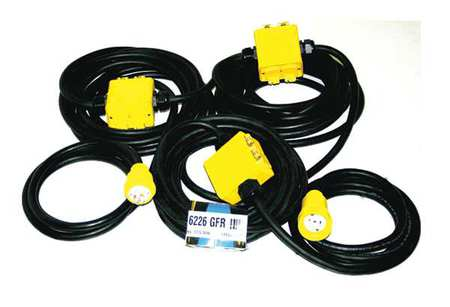 90 ft. 12/5 3 Outlet Dead End Power Stringer SOW by USA CEP Extension Cords