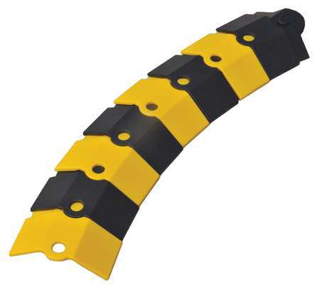 Cable Protector Drop Over 1 Channel 1ft. by USA Ultratech Electric Cable Protectors